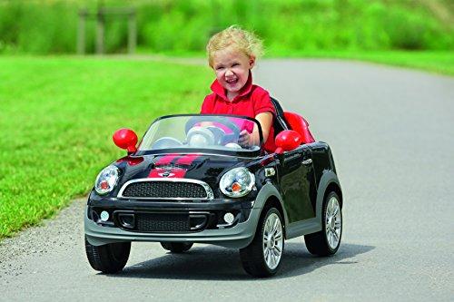 Paragon Kinderauto Mini Cooper S Coupe Kinderfahrzeug Kinder Elektroauto W456E