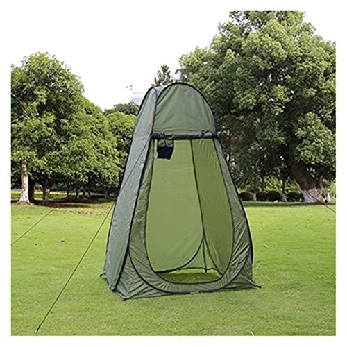 YSJJYQZ Tienda de campaña 1-2Persons Portátil Privacidad Ducha Aseo Camping Pop Up Tent Camuflaje/Función UV Vestido al Aire Libre Tienda de campaña/Tienda de Carpa (Color : Light Yellow)