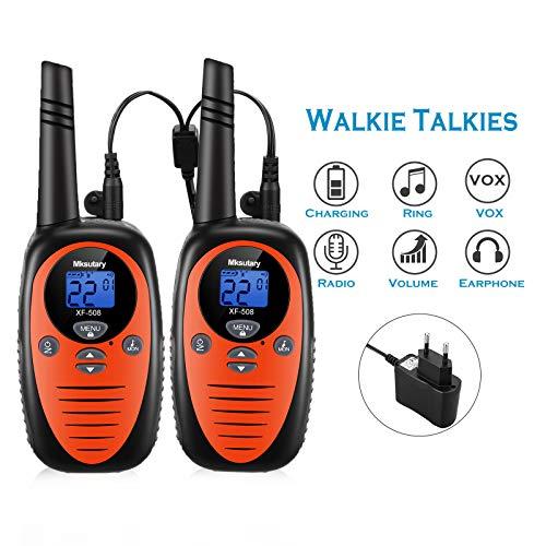 Walkie Talkie Niños Bateria Recargable Motorola Marca Generies