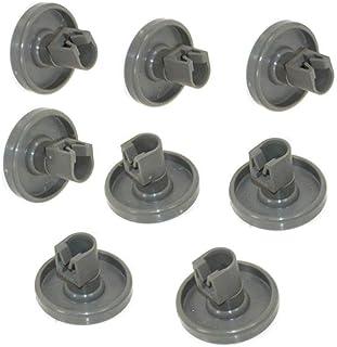 Zanussi Lave-vaisselle panier roues ensemble complet haut bas