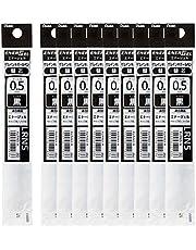 ぺんてる ボールペン替芯 エナージェル 0.5mm XLRN5-A 黒 10本