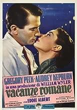 Roman Holiday POSTER Movie (27 x 40 Inches - 69cm x 102cm) (1953) (Italian Style B)