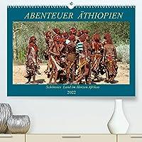 Abenteuer Aethiopien (Premium, hochwertiger DIN A2 Wandkalender 2022, Kunstdruck in Hochglanz): Landschaften, Tiere, Menschen und antike Bauwerke aus Aethiopien (Geburtstagskalender, 14 Seiten )