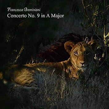 Concerto No. 9 in A Major