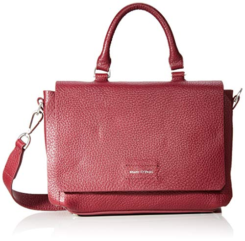 Marc O'Polo Damen Raka Henkeltasche, Rot (Berry Red), 9x25x33 cm