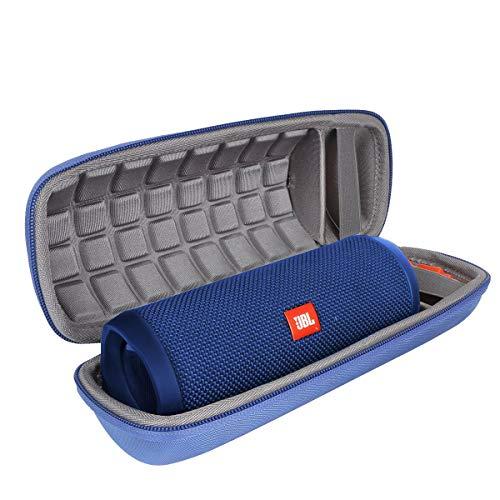 Hart Reise Schutz Hülle Etui Tasche für JBL FLIP 4/3 EIN voll ausgestatteter wasserdichter & mobiler Bluetooth-Lautsprecher von co2CREA (blau)