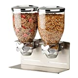 Best Cereal Dispensers - Zevro KCH-06146 Indispensable Designer Dry Food Dispenser, Dual Review