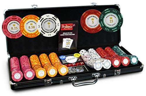 Valigetta French Riviera 500fiche Cash Game