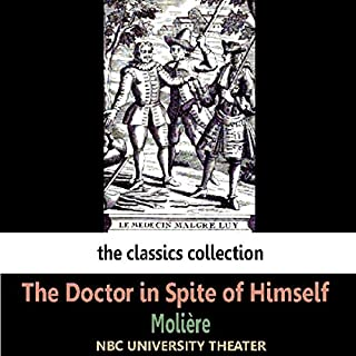 The Doctor in Spite of Himself (Dramatised) cover art