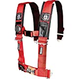 Pro Armor A114220RD Red 4-Point Harness 2' Straps