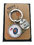 Archery Target Birthday Gift Keychain Key Chain for Birthday Gift Birthday for Arrow