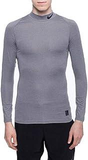 online retailer 96520 679c6 NIKE Men Pro Compression Long-Sleeve Mock Top