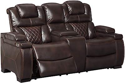 Fantastic Amazon Com Classic Double Reclining Loveseat Bonded Inzonedesignstudio Interior Chair Design Inzonedesignstudiocom