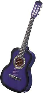 BoPeep 34 Inch Wooden Folk Acoustic Guitar Classical Cutaway Nylon String w/Bag