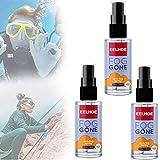 LCJDD Agente antiappannante per Auto da 60 ml, Spray antiappannamento per Occhiali, Pulizia di Tutte...