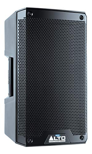 Alto Professional TS308 | 2000 Watt 8 Inch 2 Way Powered PA Speaker with Integrated 2-Channel Mixer and Pole or Wedge Positioning Options