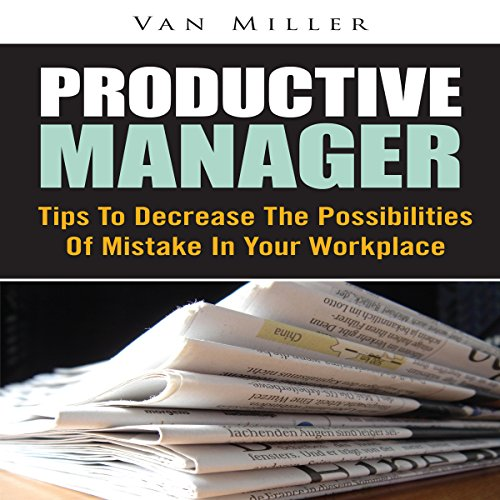 Productive Manager  By  cover art
