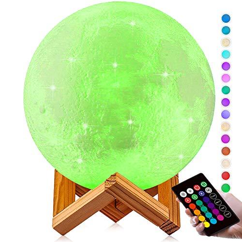 Moon Lamp Large 9.6-inch, DTOETKD 3D...