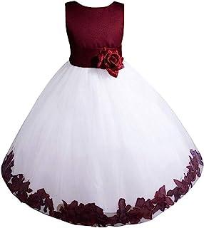 لباسهای AMJ Inc بزرگترین/دختران کوچک جشن عروسی جشن عروسی لباس عید پاک