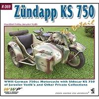 ツェンダップ KS 750 ディティール写真集[R069]Zundapp KS 750 In Detail WWII German 750 cc Motorcycle With Sidecar KS750 Of Jaroslav Votik's and Private Collections