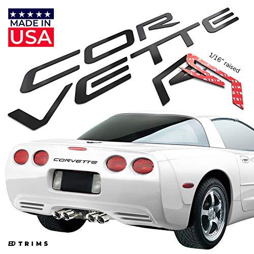 corvette c4 chrome letters - 5