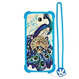 Case for OUKITEL K6000 Plus Case Silicone Border + PC Hard backplane Stand Cover XKQ