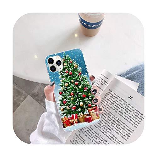 Natale neve birra regalo cassa del telefono per iphone 12 5 5s 5c se 6 6s 7 8 plus x xs xr 11 pro max-a2-iphone 12 pro