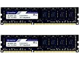 Timetec Hynix IC DDR3 PC3-10600 Non ECC Unbuffered 1.35V/1.5V Dual Rank 240 Pin UDIMM Desktop Memory Upgrade (8GB Kit (2x4GB))