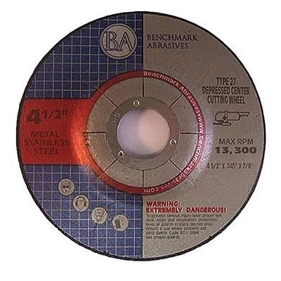 "4.5""x.040""x7/8"" Depressed Center Thin CutOff Wheel - 25 Pack"