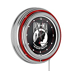 POW14 Inch Neon Wall Clock