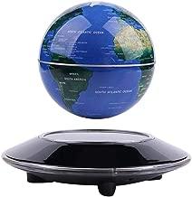 Qkiss Schwebender Globen Schweben Floaten Weltkarte Globus Kugeln Schwimmende Kugel Wohnkultur B/üro Dekoration Geografie Bildungs Kinderspielzeug Geschenk