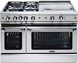 Capital GSCR484GN Precision Series 48 Inch Gas Freestanding Range(Natural Gas)