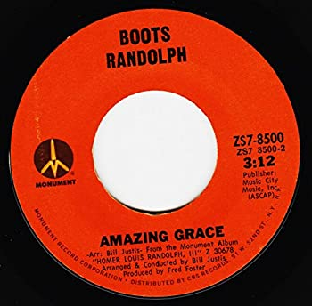 BOOTS RANDOLPH 45 RPM My Sweet Lord / Amazing Grace