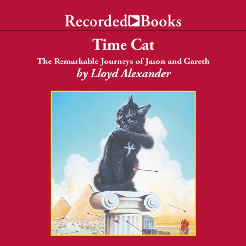 Time Cat audiobook cover art