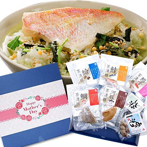 母の日プレゼント お茶漬けセット ギフト 高級食材 ギフト包装済み (母の日)