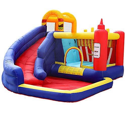 DREAMyun Castillo Hinchable Castillos Infantiles Juego Niños de 3 a 10 Años 360x320x220cm