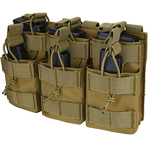 Kosse Open-Top Triple Stacker Mag Pouch