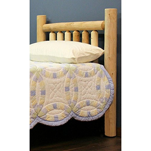 Lakeland Mills Unfinished Wooden Headboard, Queen: 64 in. W x 4.5 in. D x 48 in. H (40 lbs.) ,