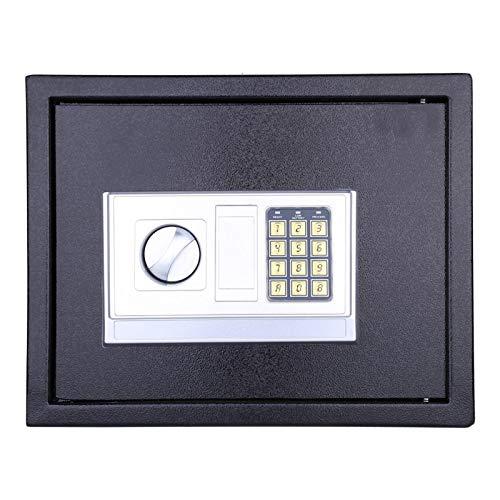 SALUTUYA Seguridad Contraseña electrónica Caja Fuerte Caja Fuerte con contraseña Bisagras a Prueba de manipulaciones internas