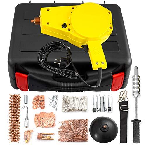 BS-70F Kit de extractor de abolladuras para soldador de pernos por puntos para automóviles Mini soldador por puntos para reparación de carrocerías de automóviles Máquina de soldadura por puntos Kit d