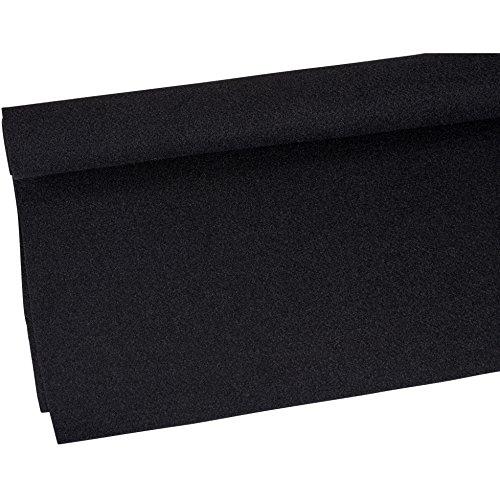 Parts Express Duralock Backed Speaker Cabinet  260-762 Carpet Black Yard, 48'Wide