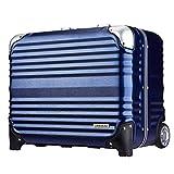 [アウトレット品] スーツケース キャリーバッグ キャリーケース ビジネスキャリー 機内持込 パソコン SS サイズ 機内持込 小型 超軽量 レジェンドウォーカーグラン 『B-6607-45』 ネイビー