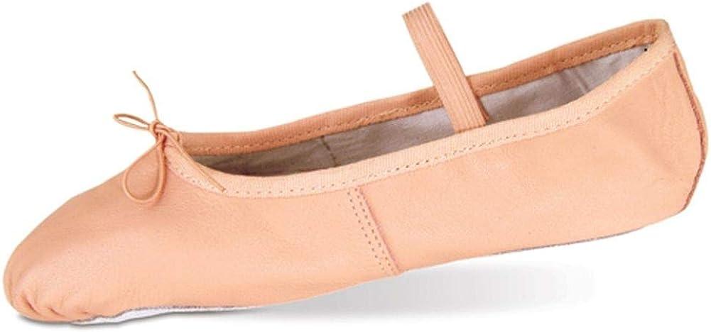 Danshuz Womens Pink Deluxe Leather Sole Cushion Ballet Shoe Size 3.5