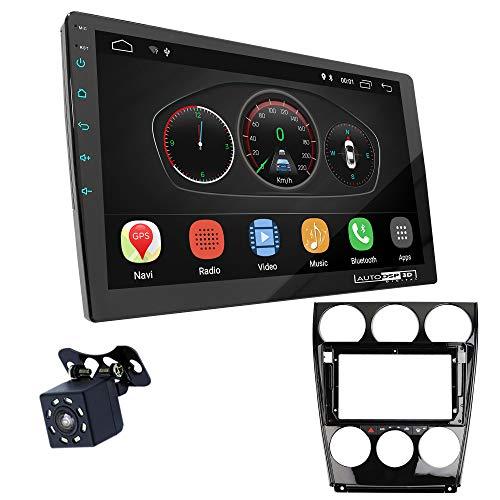 UGAR EX10 9' Android 10.0 DSP Car Radio mit 11-106S Panel Dash Instalación Fascia Kit para Mazda (6), Atenza 2002-2007