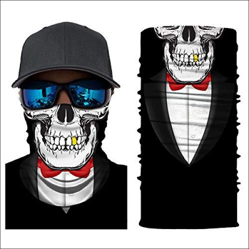 sswyfc schedel pak gezicht bescherming buisvormige magische hoofddoek 3D digitale afdrukken Anti Haze mond en neus gemakkelijk te ademen