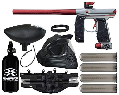 Action Village Empire Mini GS Paintball Gun Legendary Package Kit Dust Grey/Dust Red