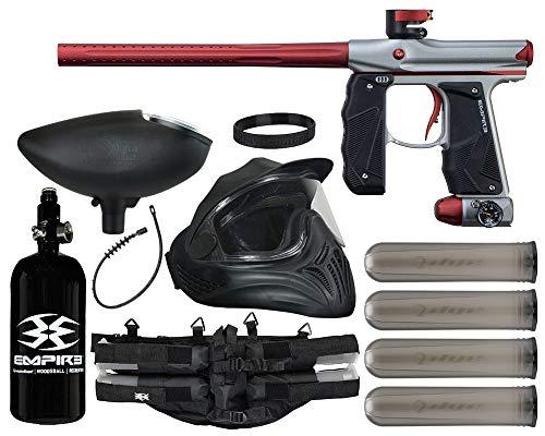 Action Village Empire Mini GS Paintball Gun Legendary Package Kit (Dust Grey/Dust Red)