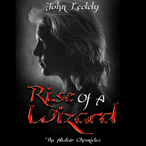 Rise Of A Wizard audiobook cover art