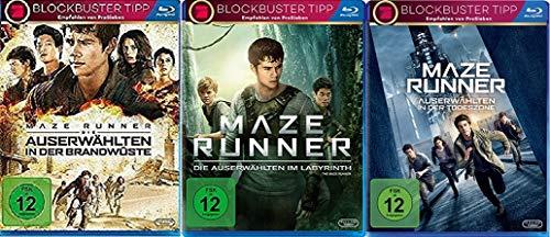Maze Runner Trilogie ( 1 - 3 ) Blu-ray-Set