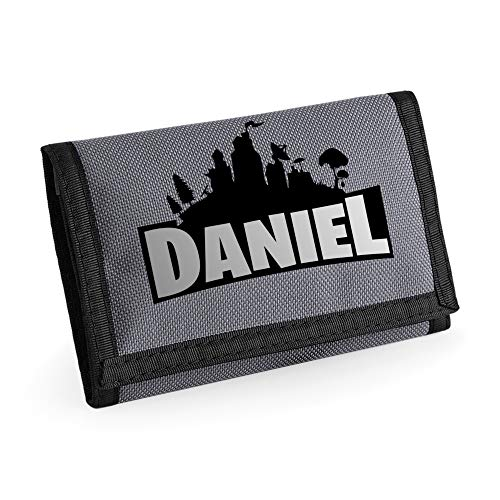 Personalised Kids Gaming Wallet with for Boys/Girls Optional GameTAG...